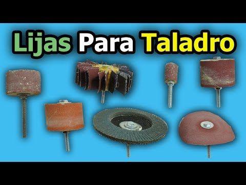 Lijas para taladro como hacer accesorios caseros para - Accesorios para taladro ...