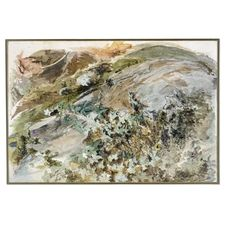 john ruskin watercolors | John Ruskin, A Study of Ivy, a watercolour with gouache over pencil