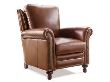Richardson High Leg Reclining Lounger 4866 Furniture Leather Furniture Detail Recliner