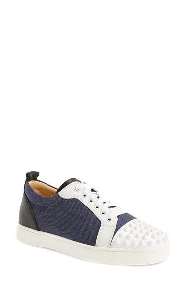 Christian Louboutin 'Louis' Spiked Sneaker | Nordstrom