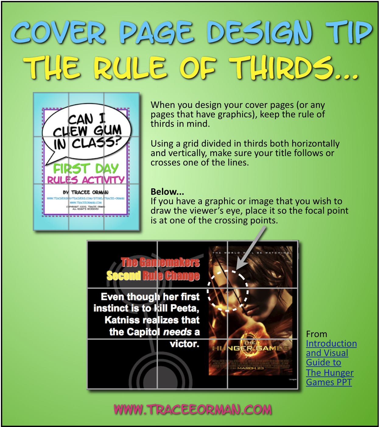 mrs orman s classroom designing your cover page the rule of mrs orman s classroom designing your cover page the rule of thirds