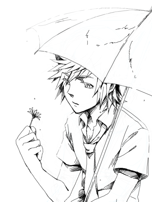 Roxas, Kingdom Hearts | umbrellas | Pinterest | Colorear, Juego y Dibujo
