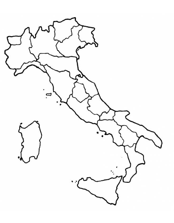 Italia Cartina Politica Da Stampare.Disegno Cartina Italia Disegni Da Colorare E Stampare Gratis Per Bambini Puoi Stampare Scaricare Il Disegno O Guardare Gli Colori Idee Per Insegnanti Mappa
