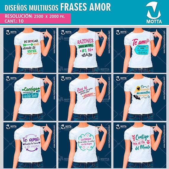 Love phrases templates, T-shirt sublimation template, sublimation, sublimate t-shirts, sublimate pul