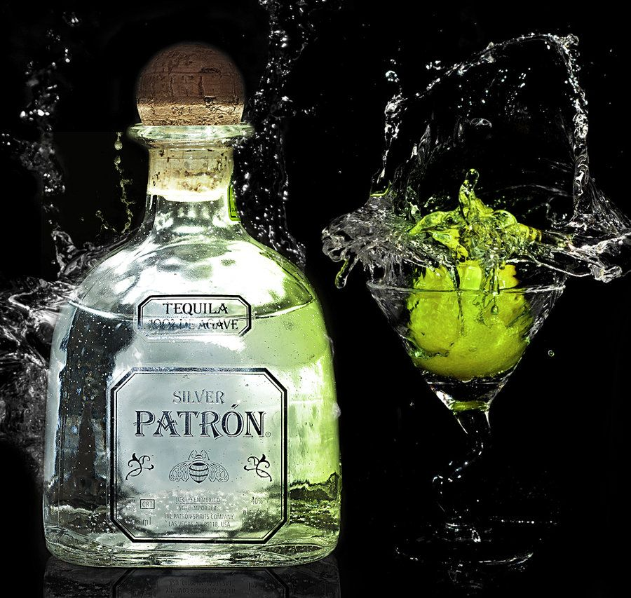 patron bottle photography silver patron tequila is great