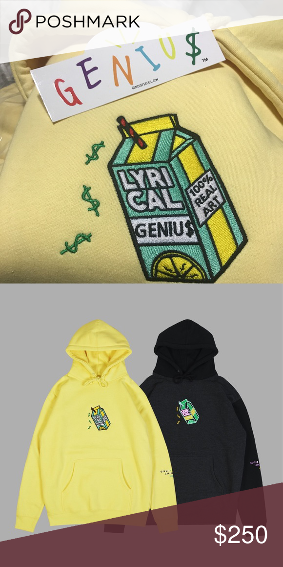 972f3f3f1 LYRICAL LEMONADE HOODIE LYRICAL LEMONADE X GENIU$ HOODIE OFFER NOW NEVER  GOING TO BE RELEASED AGAIN Shirts Sweatshirts & Hoodies