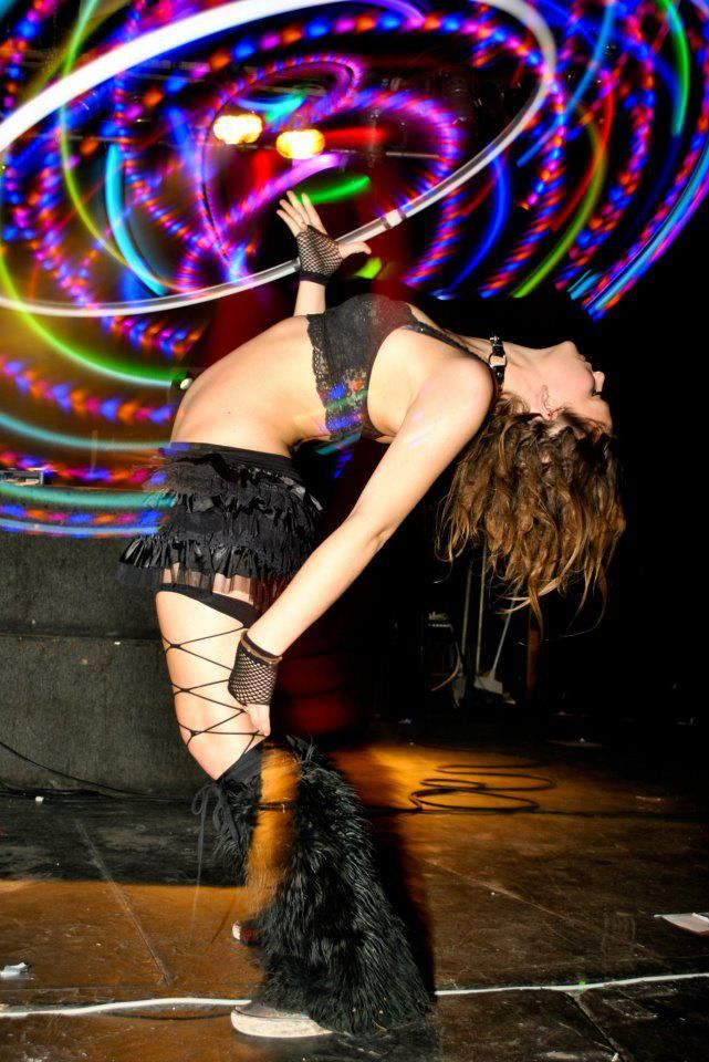 Working my way to this backbend... | Houston nightlife ...