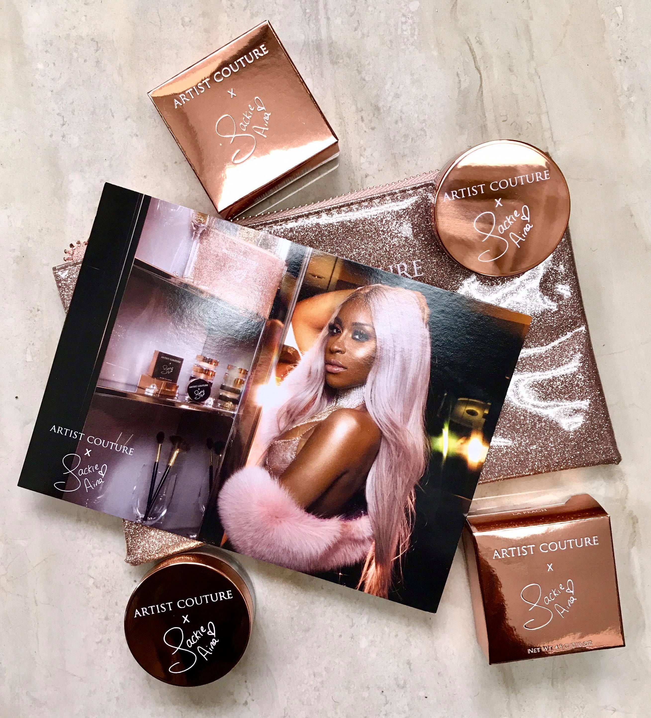 QUICK REVIEW AND SWATCHES ARTIST COUTURE X JACKIE AINA