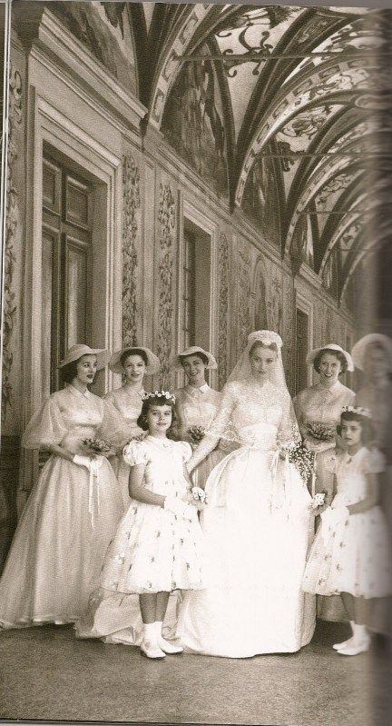 Image result for princess grace wedding | GRACE KELLY, PRINCESS OF ...