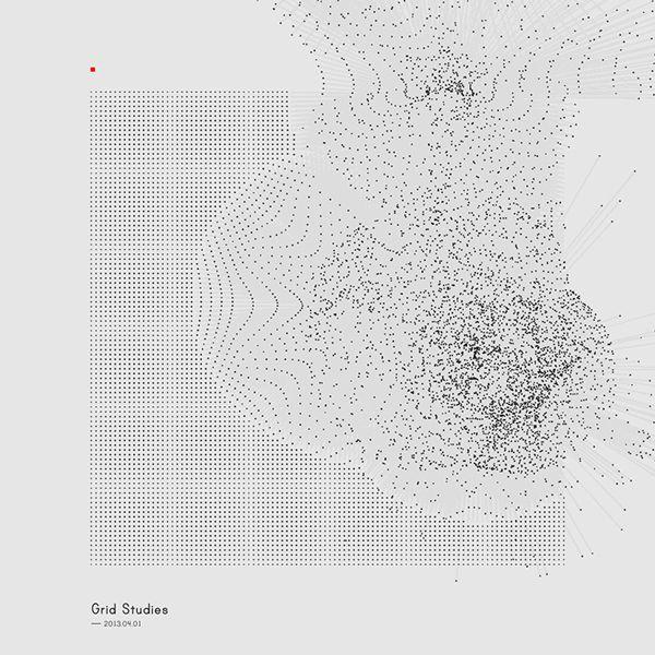 Generative Sketches     Grid Studies On Behance