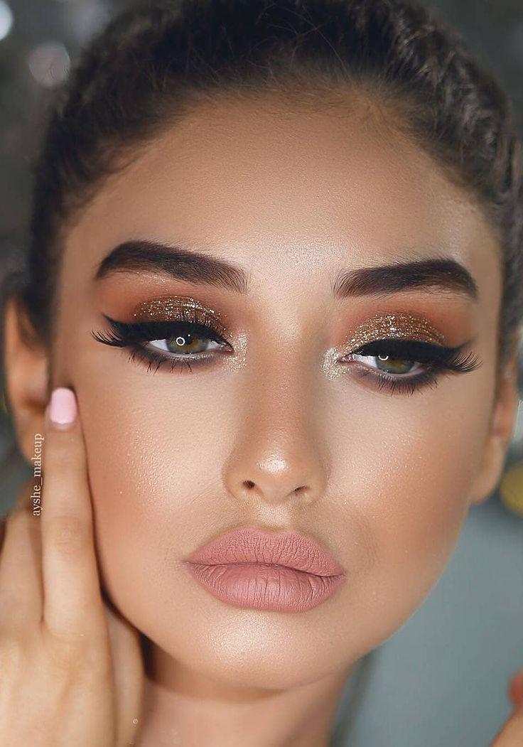 Photo of Easy und Beauty Make-up sieht aus, es sind Glamour-Ideen und Bilder! Teil 3  #