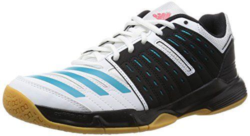 adidas Damen Handballschuhe Essence 12 W core black/ftwr white/shock green  s16 45