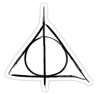 Deathly Hallows Symbol By Kate Bloomfield Deathly Hallows Symbol Harry Potter Deathly Hallows Deathly Hallows