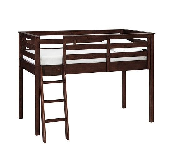 Kendall Loft Bed Pottery Barn Kids Shorter Bunk Bed For Rooms With