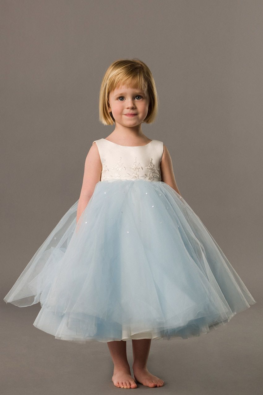 10 Best images about Wedding flower girl &amp bridesmaid dresses on ...