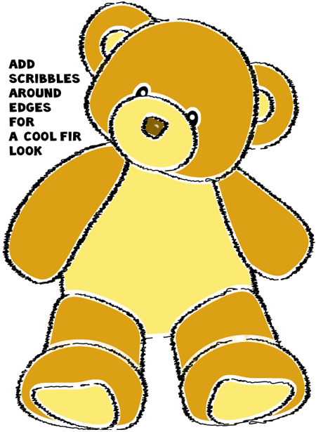 How to Draw a Teddy Bear with Easy Step by Step Drawing ...
