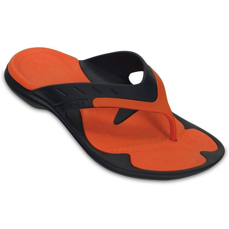 5b0c24649bced1 These men s MODI Sport Flip sandals from Crocs have a fresh