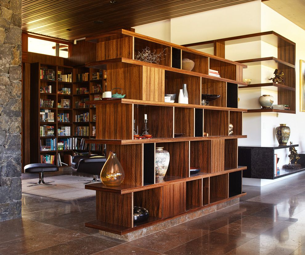 divider design ideas hall asian with leather armchair wooden ceiling