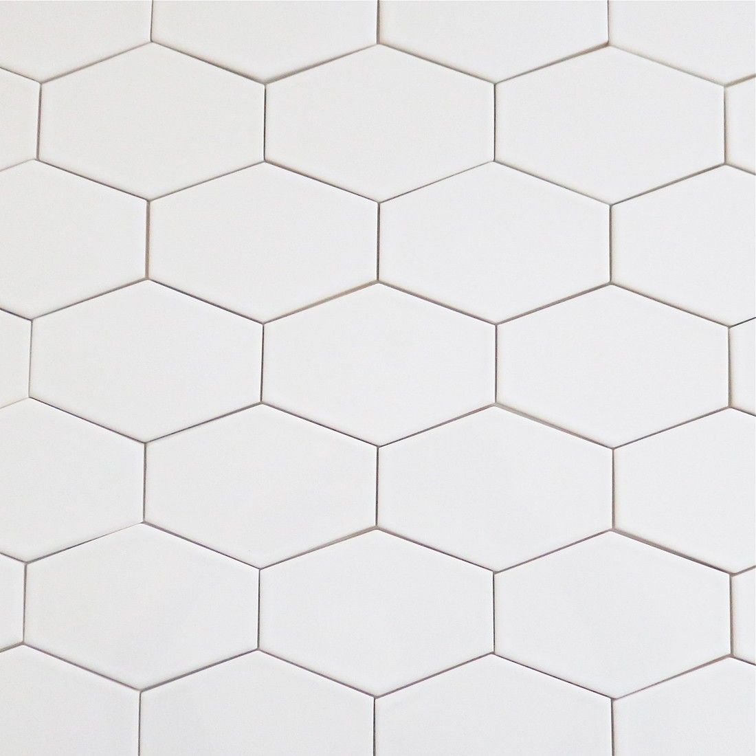 White Ceramic Hexagon Tile Tile Design Ideas