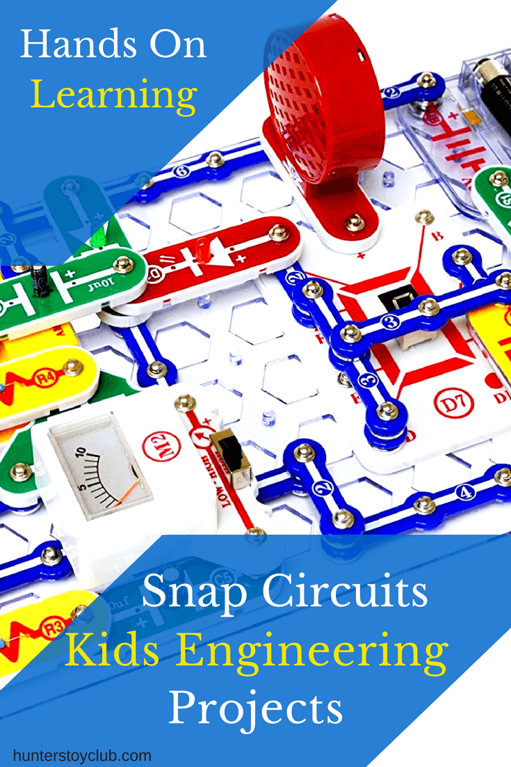 Give Your Kids Hands On Experience Working With Everyday Electrical Circuit Circuits The Elenco Snap