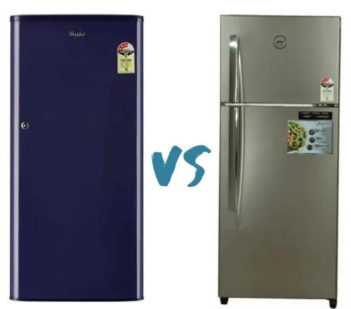 Single Door Vs Double Door Refrigerator Double Door Refrigerator Refrigerator Double Door Fridge