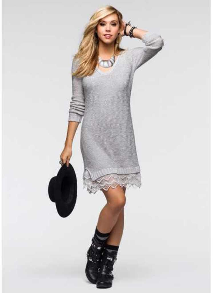afe8b6727a8 Свитер-платье (83 фото)  с чем носить свитер-платье