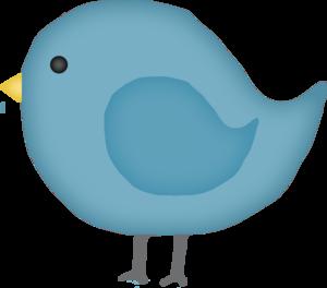 Pat Bluebird clip art