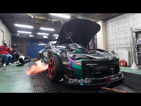 Gt86 Antilag Monster Dyno D At Hks Japan Burnouts On The Dyno Youtube Japan Japanese Domestic Market Jdm Parts