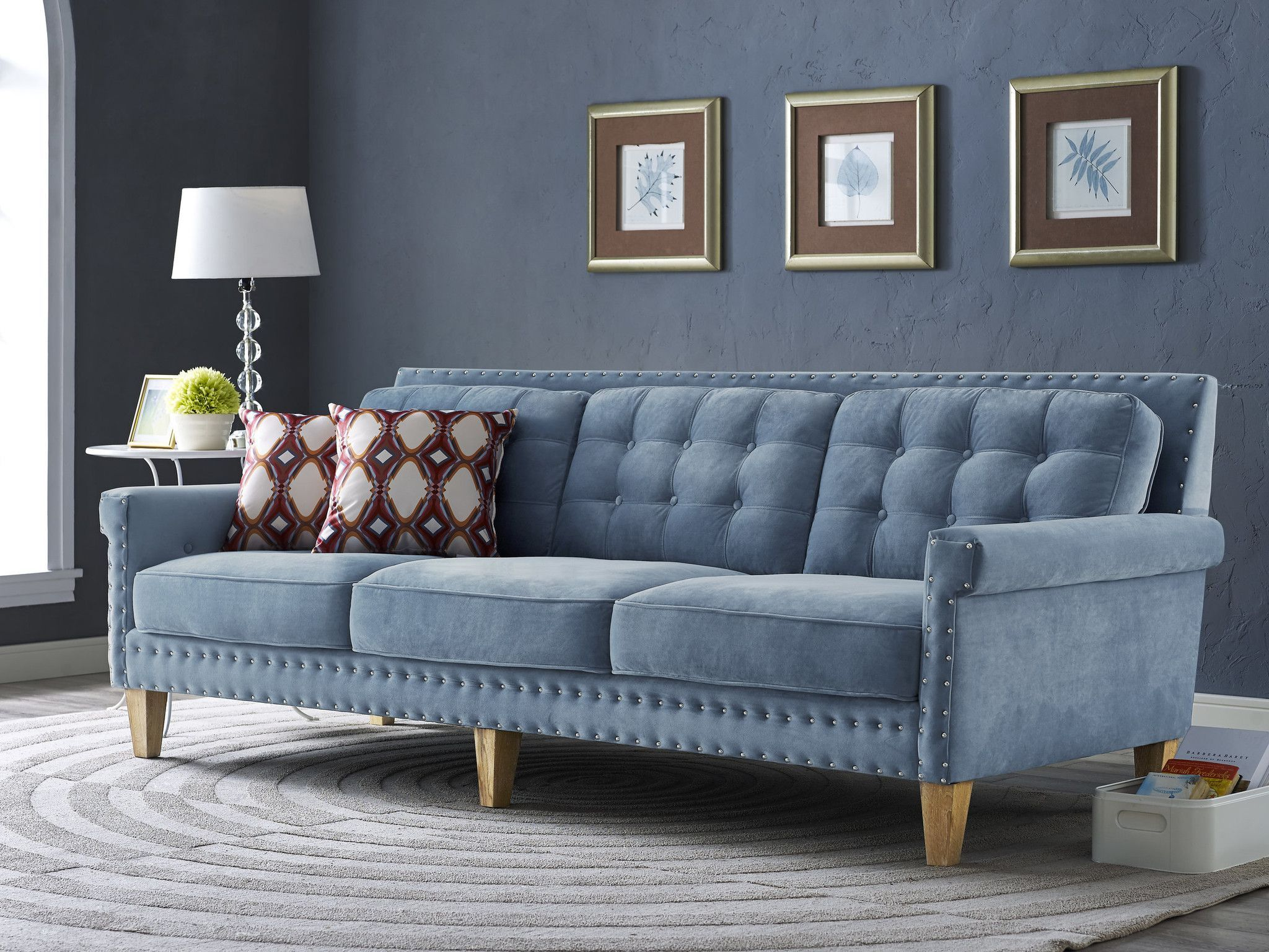 The Neat, Clean Structure Of The Jonathan Sofa Is A Welcome Addition To Any  Room