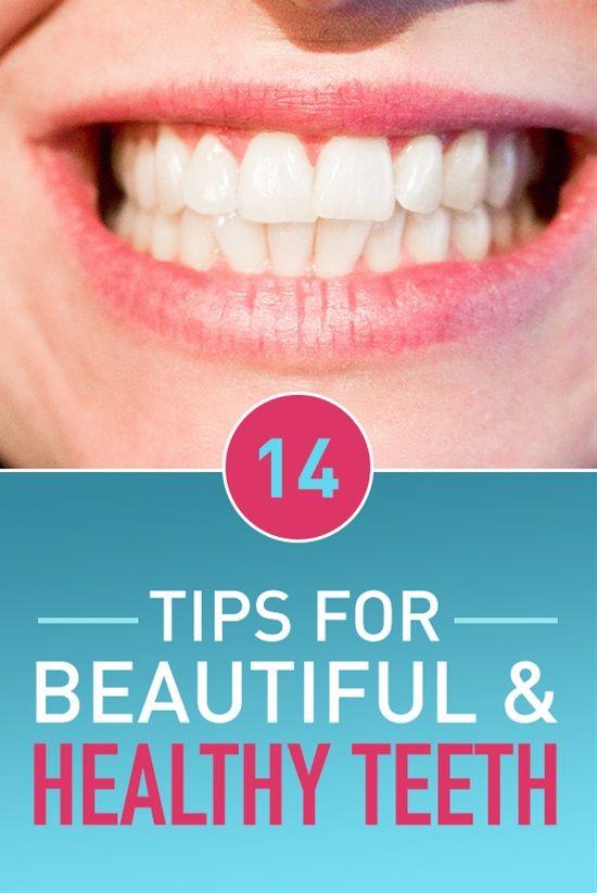 14 Tipps für schöne und gesunde Zähne   – Health & Fitness
