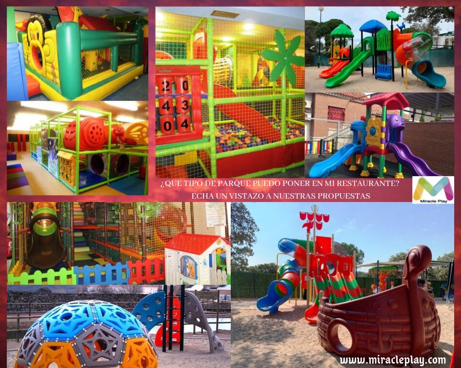Collage Parques Para Restaurantes Parques Infantiles Parques Piscinas Infantiles