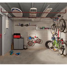 Porte Tout De Garage En Acier Laque Rangement Garage Idee Rangement Et Garage En Acier