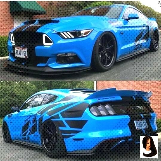 Daily Dose Of Mustangs???? on Instagram Grabber Blue Coyote ???? Would you driv... - Dress M... Da