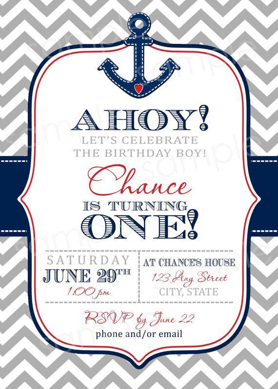 nautical invite template