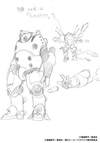 Kohei Horikoshi Reveals Original Character Designs For 2nd My Hero Academia OVA