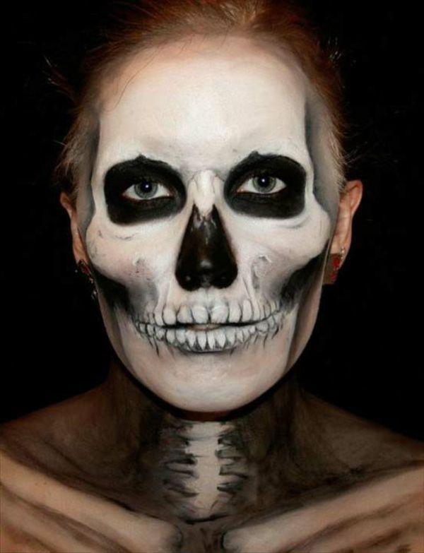 zombie schminke