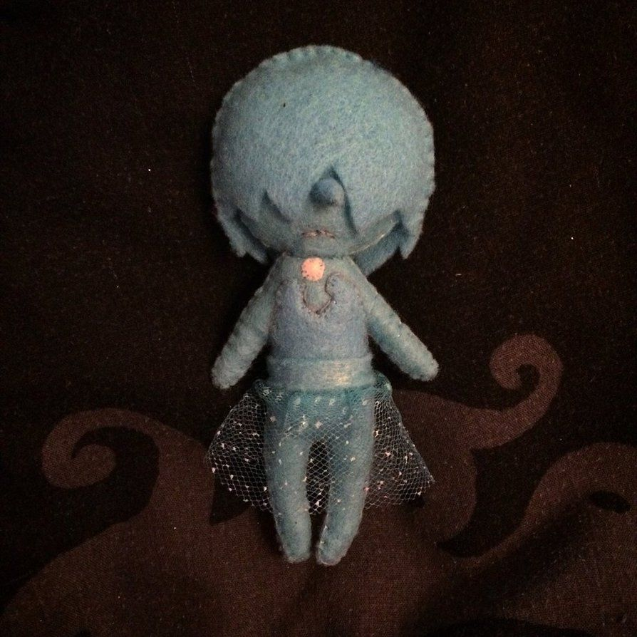 Steven Universe - Blue Pearl Plush by Jack-O-AllTrades.deviantart.com on @DeviantArt
