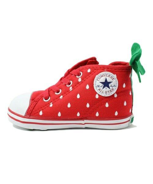 strawberry converse
