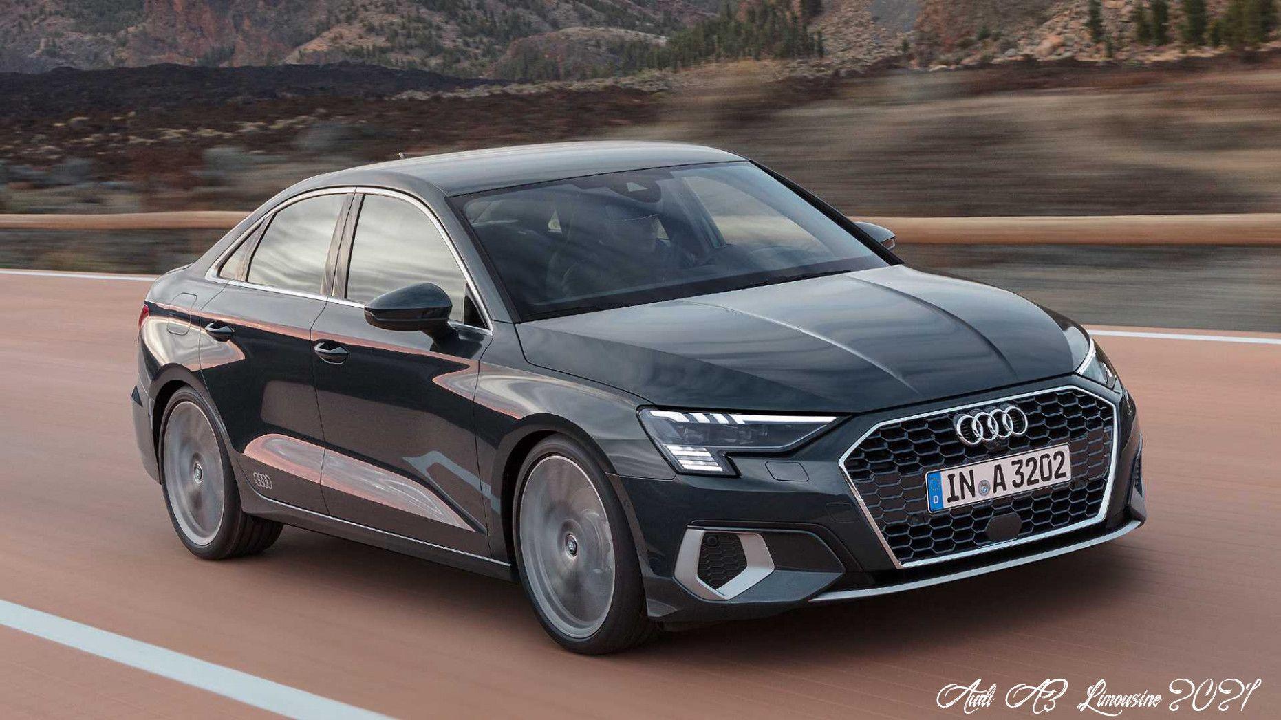 Audi A3 Limousine 2021 Rumors In 2020 Audi A3 Sedan Audi A3 Audi