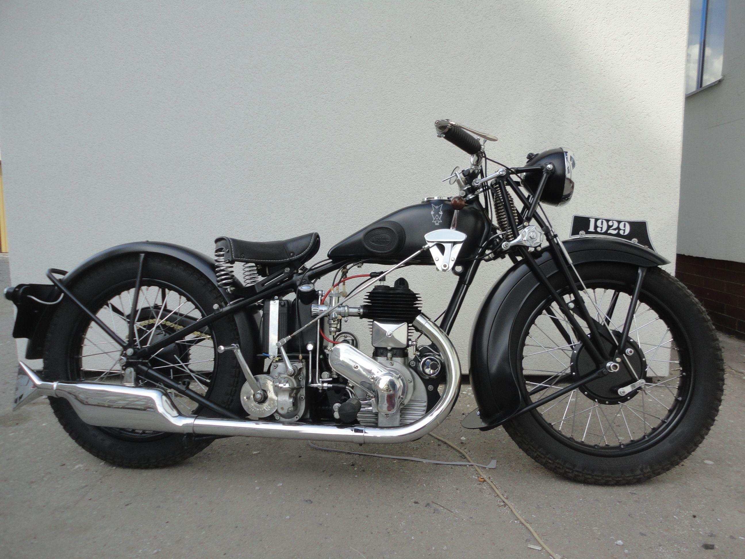 Ariel 557 Sv 1929 Moje Verze Bike Trike Motorcycle