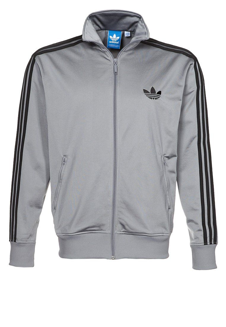 adidas FIREBIRD Tracksuit top grey | I want it babe in