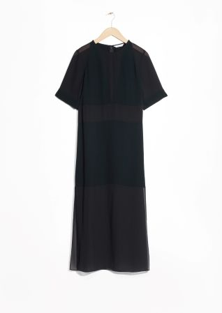& Other Stories   Paneled Dress