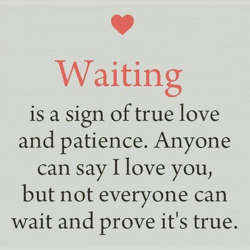I Would Wait A Lifetime To Prove It To You For My Love Quotes