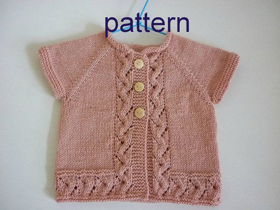 Baby Kntting Patternttern Baby Cardiganitted Baby Cardigan
