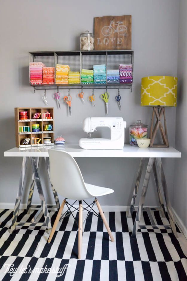 Photo of # Craft area # craft ideas #decoration #den # for