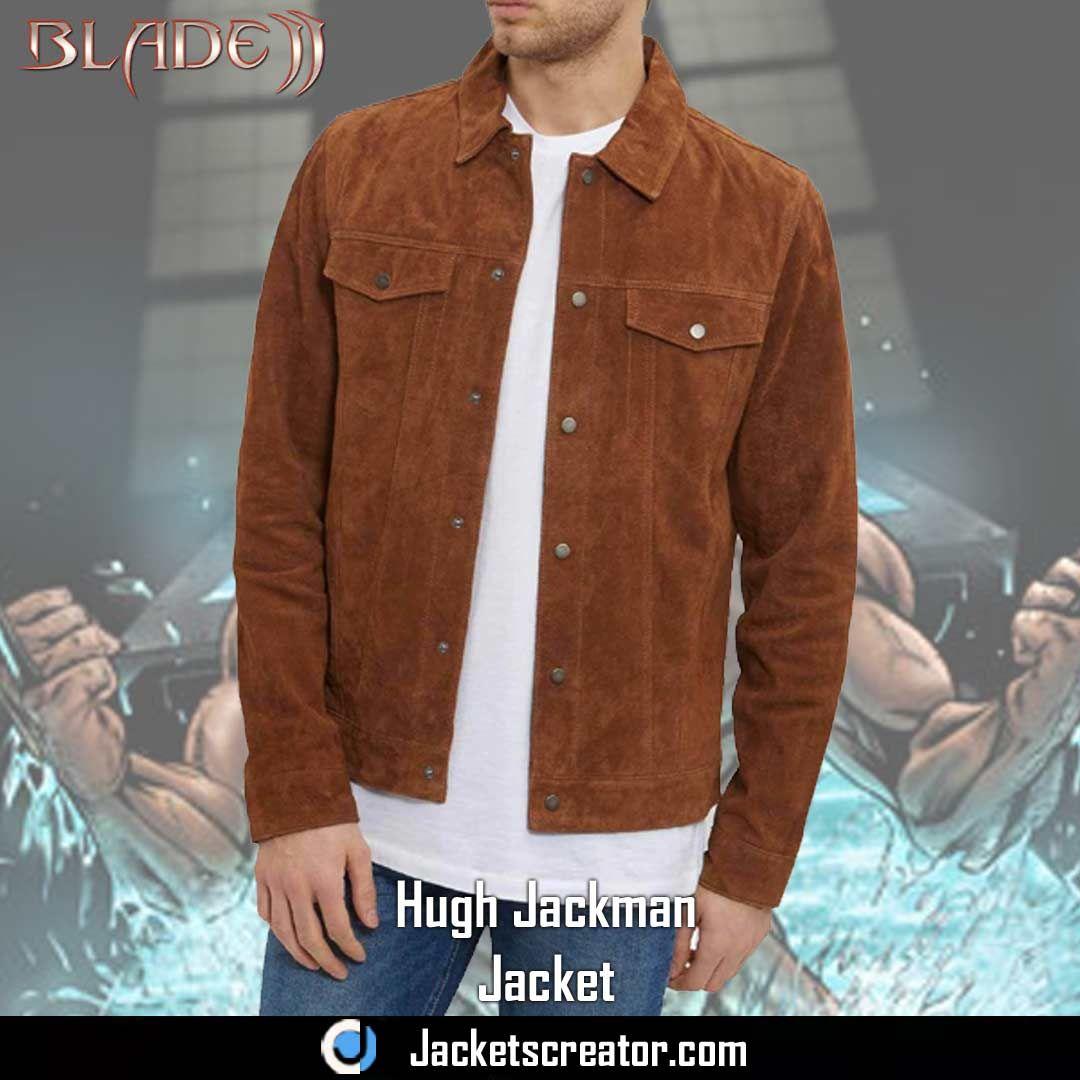 e11a9eb2b Logan Jacket | Movie Jackets | Jackets, Brown suede jacket, Suede jacket