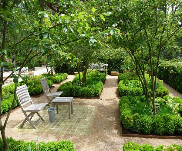 Landscape Design Surrey: Gefiltered Zonlicht - Farnham, Surrey, UK
