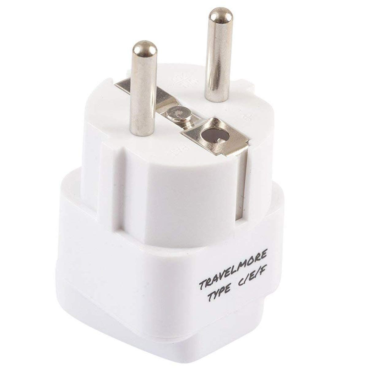 2 Pack European Travel Adapter Plug For European Outlets Type C Type E Type F Europe Plug Adapter Wor Travel Adapter Plugs Travel Adapter European Travel - 37+ What Is A Type F Plug? Pics