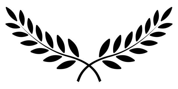 Best Laurel Leaves Crown Illustrations Laurel Tattoo Wreath Tattoo Leaf Tattoos