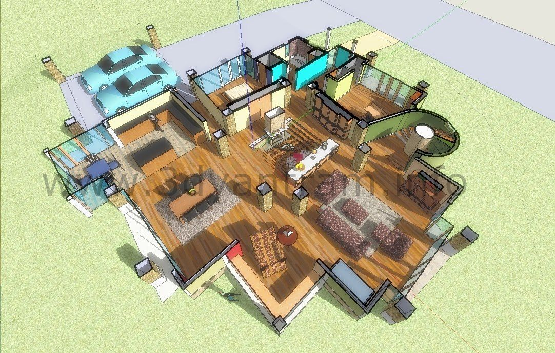 Sketch Up 3d Floor Plan Design Perth Australia Floor Plan Design Plan Design How To Plan